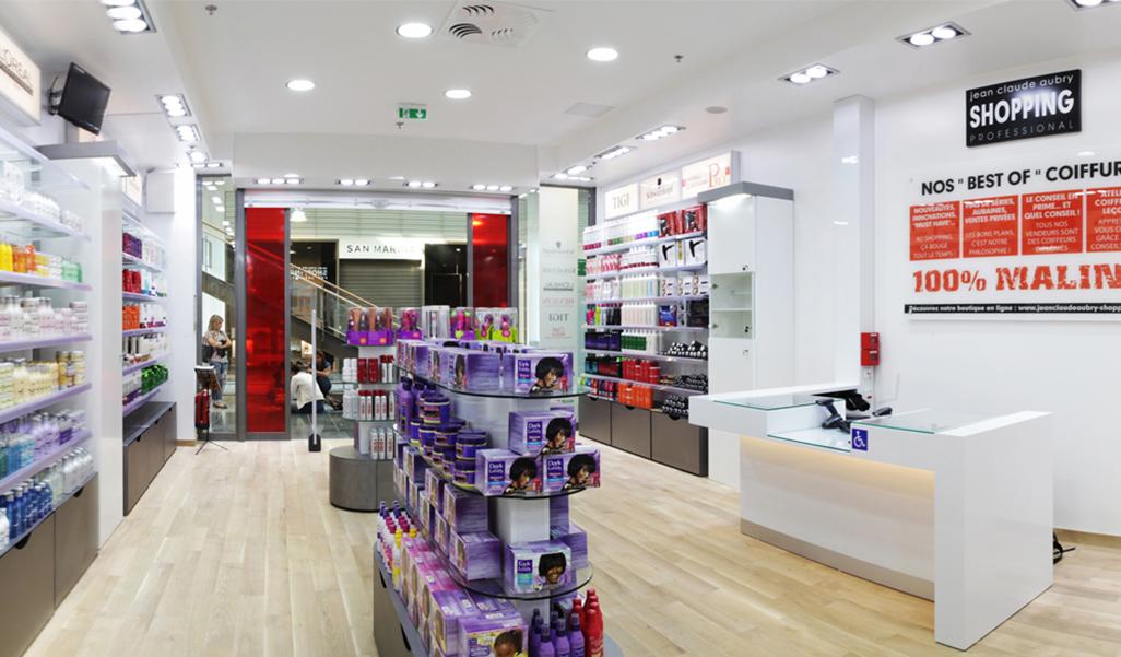Concept Shopping Jean Claude Aubry