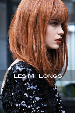 Lookbook coiffure : les mi-longs