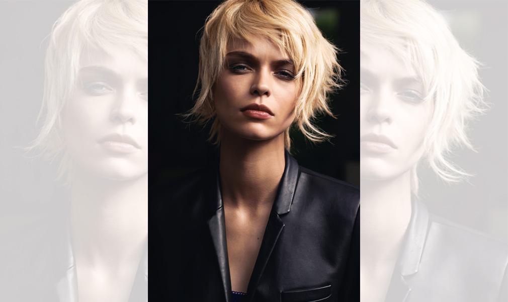 Cheveux blonds : version coupe courte