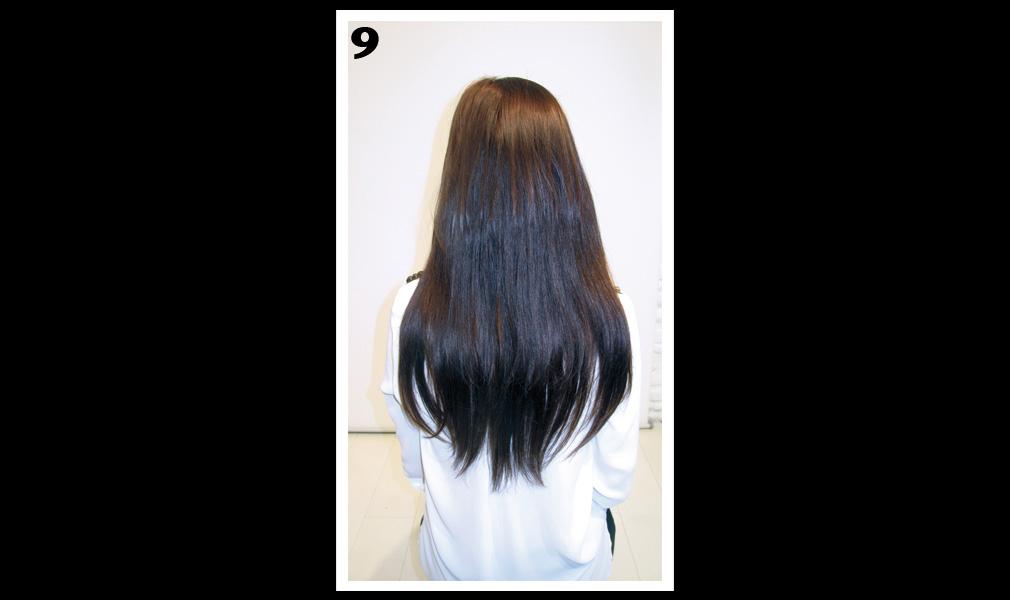 Tuto coiffure : gagner en longueur et en volume / Etape 9 - Shopping Jean Claude Aubry
