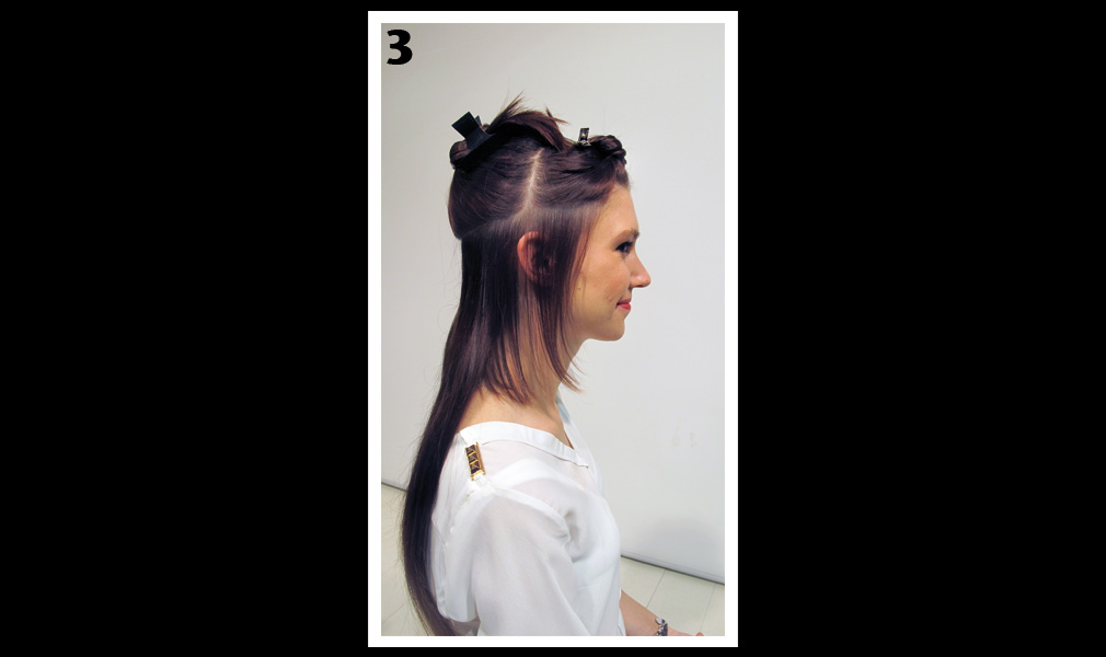 Tuto coiffure : gagner en longueur et en volume / Etape 3 - Shopping Jean Claude Aubry