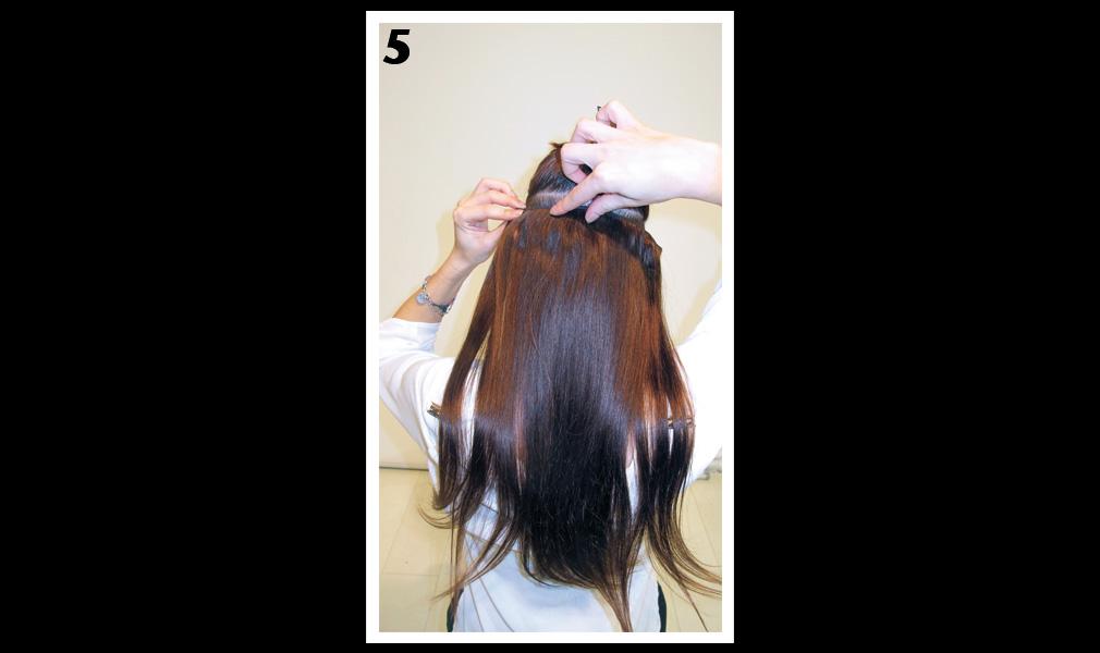 Tuto coiffure : gagner en longueur et en volume / Etape 5 - Shopping Jean Claude Aubry