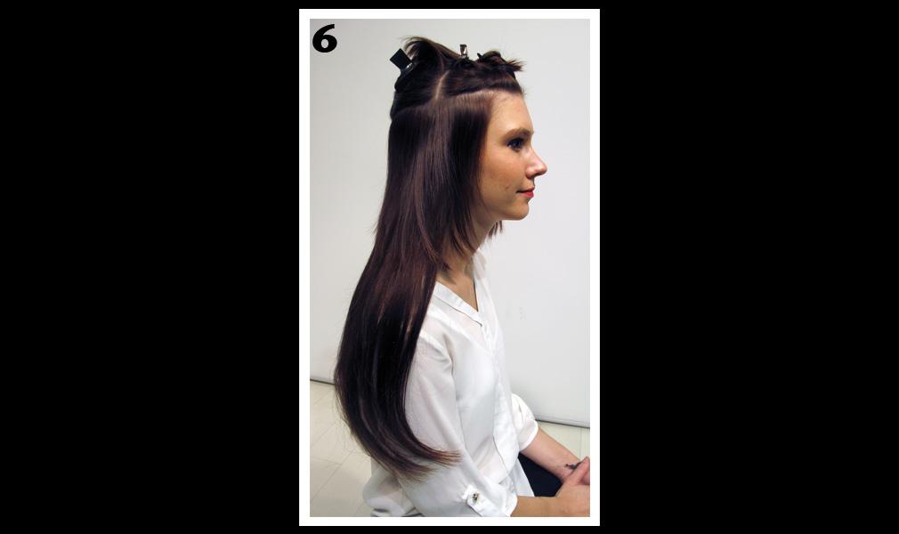Tuto coiffure : gagner en longueur et en volume / Etape 6 - Shopping Jean Claude Aubry