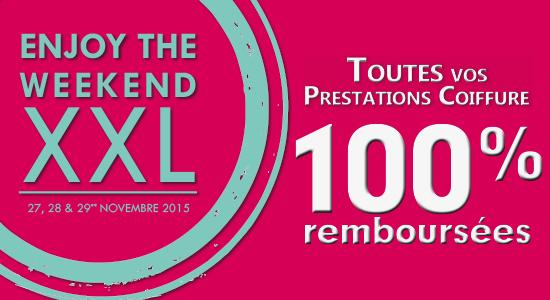 Weekend XXL : vos prestations coiffure 100% remboursées dans les Shopping Jean Claude Aubry participants